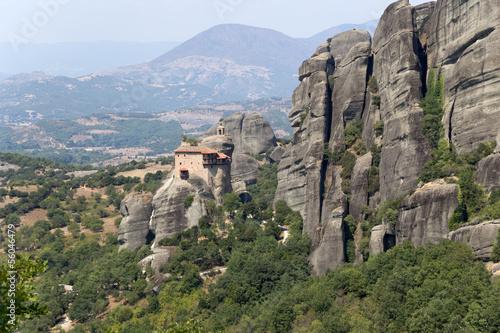 Греция. Метеоры. Монастырь на скале