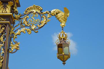 Lantern from place Stanislas in Nancy, France