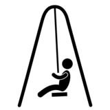Piktogramm Kind Vektor poster