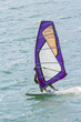 Windsurfer on Garda Lake color image