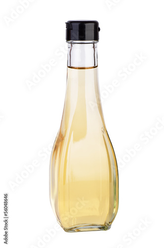 Decanter with white balsamic (or apple) vinegar