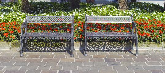 Limone del Garda lakeshore view color image