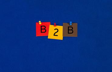 B2B - Business Sign