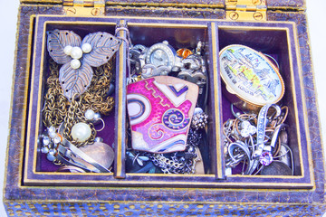 Jewellery Box and Costume Jewelry