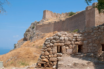 The ruins of Corinth.