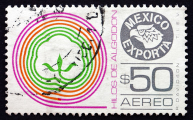 Postage stamp Mexico 1982 Cotton Thread, Mexican Export