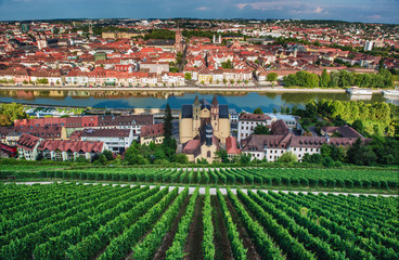 Wurzburg town in Germany