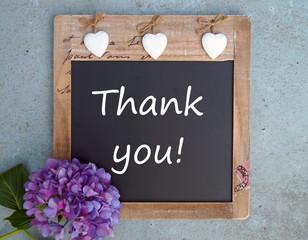 Dankeschön-Thank you!