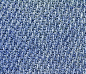 blaues gewebe grob