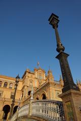 Plaza de España in Sevilla, Spanien