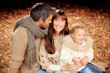 family autumn trip