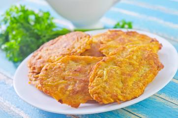 pancakes from potato