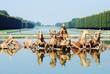 Leinwanddruck Bild - Bassin d'Apollon