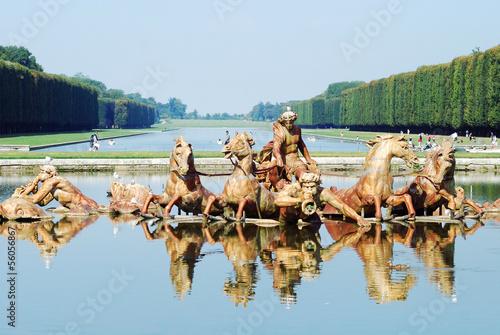 Leinwanddruck Bild Bassin d'Apollon