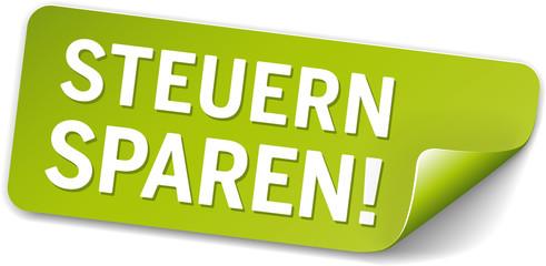 Grünes Label Steuern sparen!