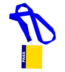 Cartellino Pass - Porta badge - delegato