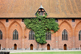 The greatest in Europe Gothic Castle. Malbork in Poland.