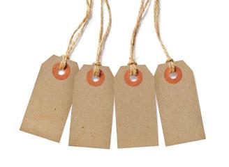 Brown tags