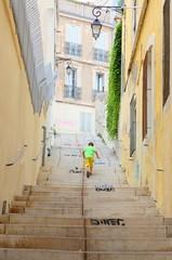 Enfant dans Marseille