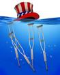 American Health Care Underwater.