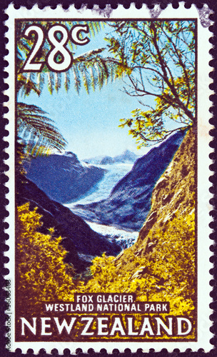 Fox Glacier, Westland National Park (New Zealand 1967)