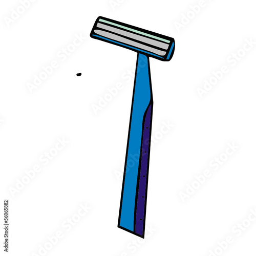 razor vector illustration