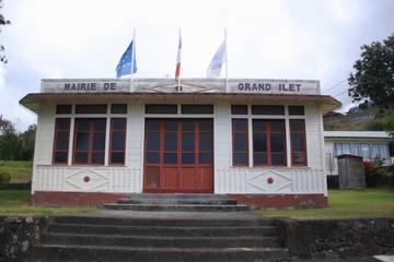 La mairie de Grand Ilet