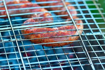 roast appetizing meat sausage