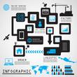 Direct sale infographics design ,Illustration eps 10