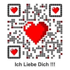 Ich Liebe Dich !!! - QR Code german