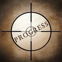 Progress target