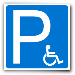 Picto : Parking Handicapé