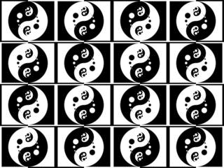 Jing jang pattern