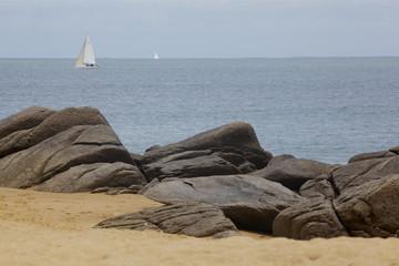 plage des Conches, l'Île d'Yeu