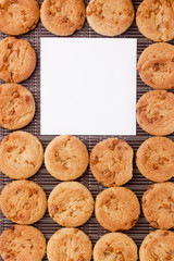 Background from cookies