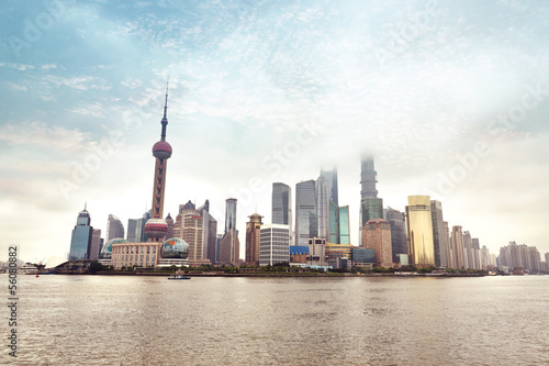 Shanghai skyline - China