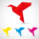 Origami Vögel