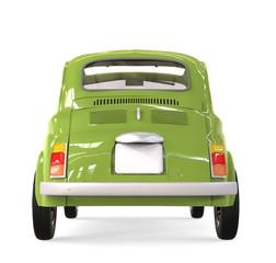 Pequeño coche de época italiana 500