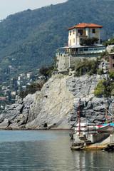 Casa sul mare a Camogli, Liguria, Italia