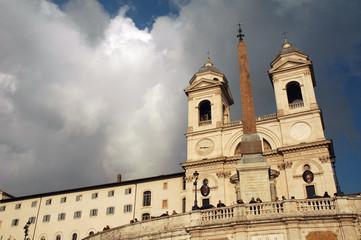 Trinità dei Monti, Piazza Spagna, Roma, Italia