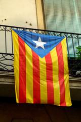 Bandiera catalana, Barcellona, Spagna
