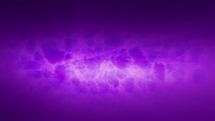 purple computer generated cloud with rays background