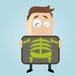 röntgen untersuchung lustig cartoon
