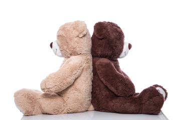 Streit in der Partnerschaft - Teddybär als Liebespaar
