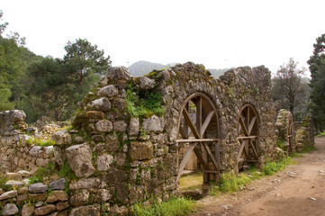 Ruinen in Olympos bei Kemer - Türkei