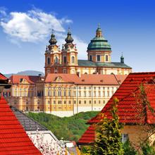 Abbaye bénédictine de Melk, en Autriche