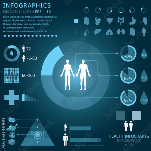 Health Infographic Infochart