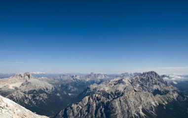 Croda Rossa (Hohe Gaisl) und Cristallogruppe - Dolomiten - Alpen