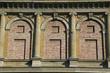 Detail der Gliederung der Fassade der Alten Pinakothek