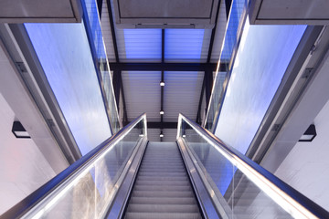 building escalator